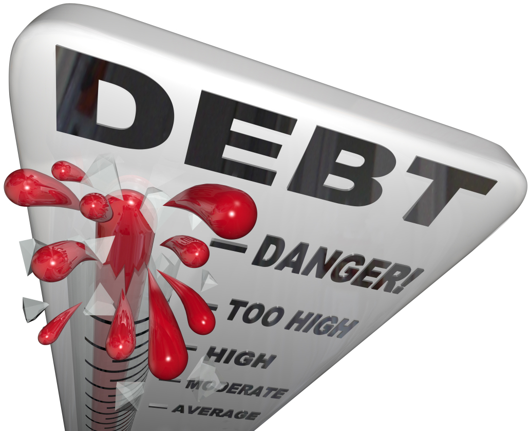 Escalating debt and happiness do not mix. Avoid it!